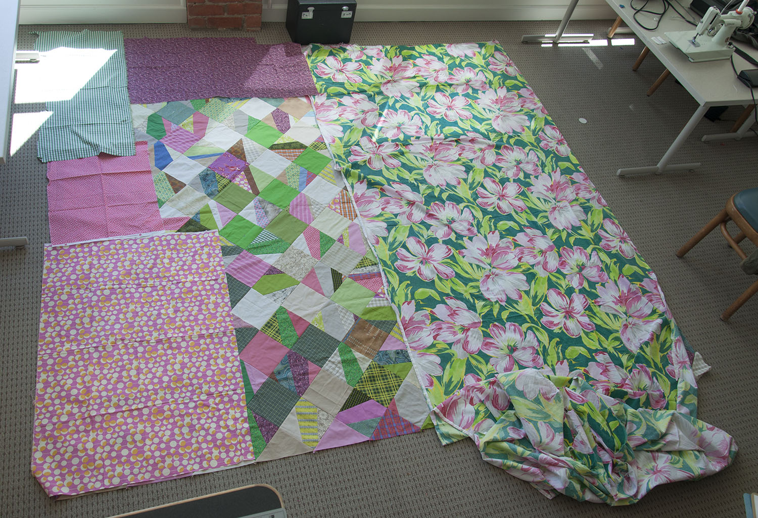 king size quilt back standing on a table.jpg