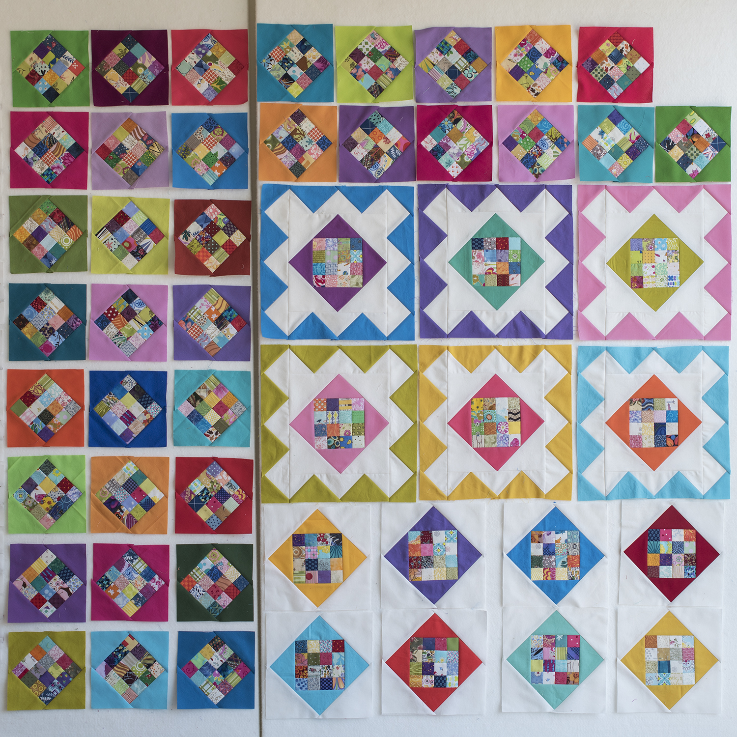 Spring Fever 49 blocks started.jpg