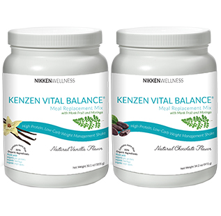 Kenzen Vital Balance Meal Replacement Mix Chocolate or Vanilla $90 US  Our new formula contains organic moringa and naturally sweet monk fruit in addition to organic pea  protein  and organic vegetables.