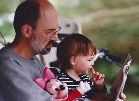 Zoey loved books from the time she was a baby.  And I loved reading to her.