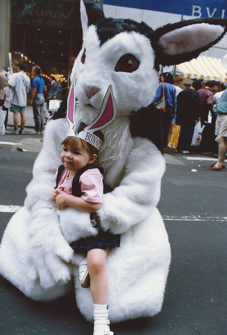 My daughter Zoey first became acquainted with Bunnicula as a costume character when she was two.