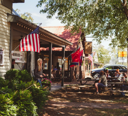 Franklin, TN, has a little something for everyone like this artisan village called Leiper's Fork.