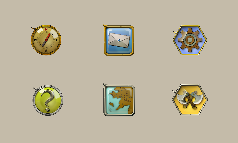 Icon Design - Legends of Five Kingdoms