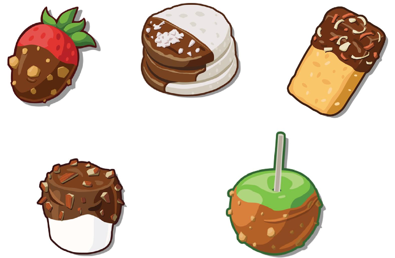Icon Design for Forever Donut (N3twork Inc)  Figure above: Made in Adobe Illustrator.