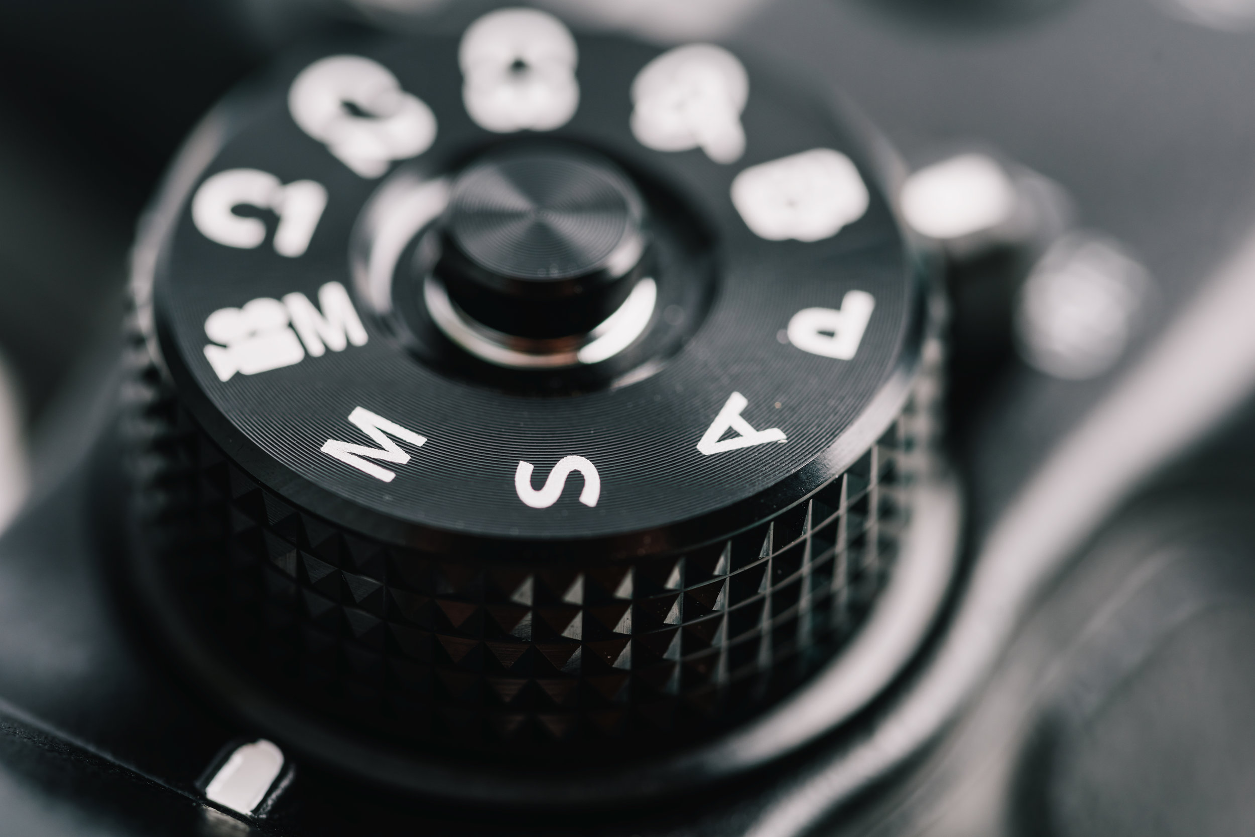 Copy of Digital Camera Control Dial Showing Aperture, Shutter Speed, Manual and Program Generic Modes