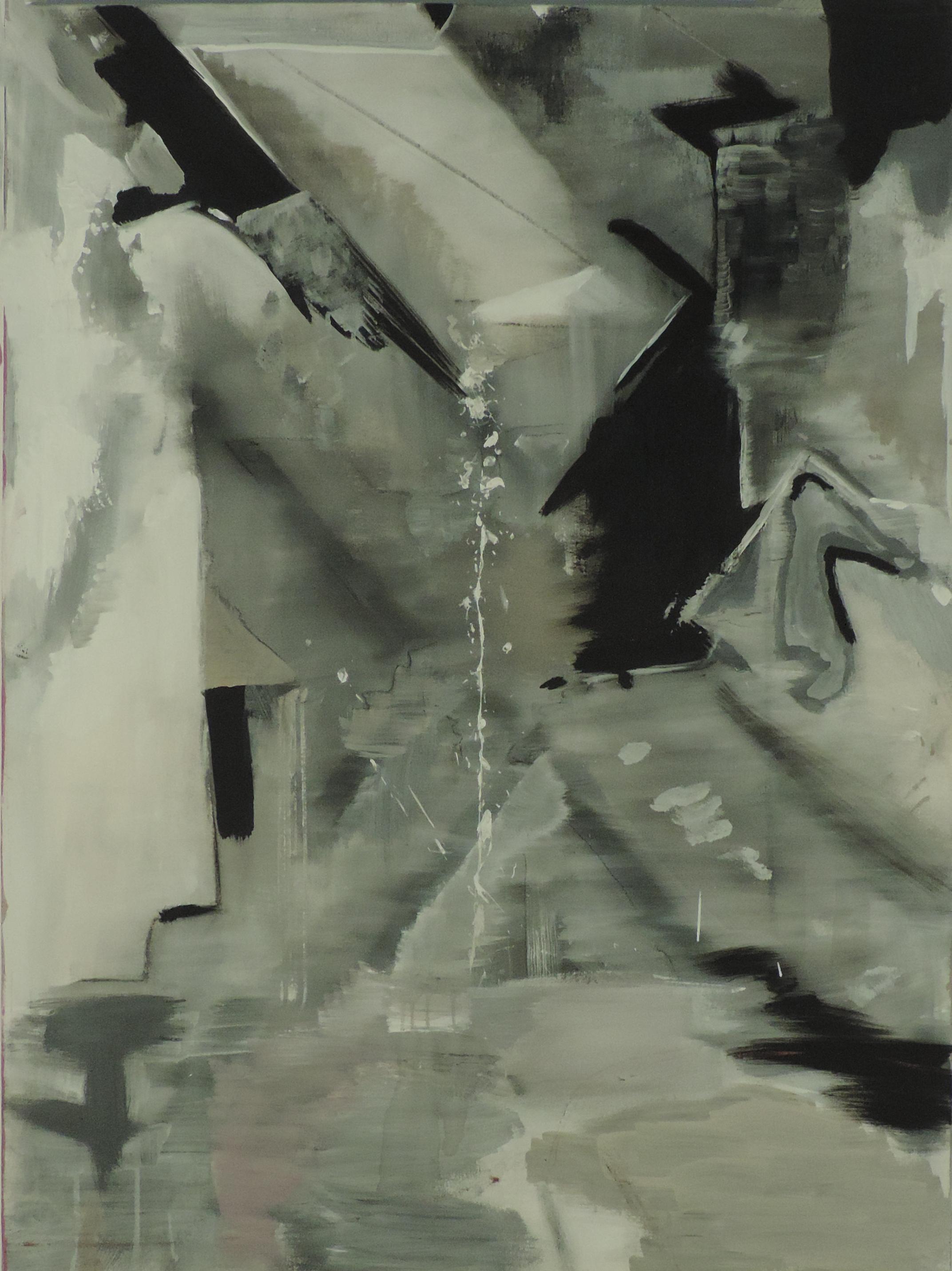 So Architectural  oil on canvas. 4 feet x 3 feet
