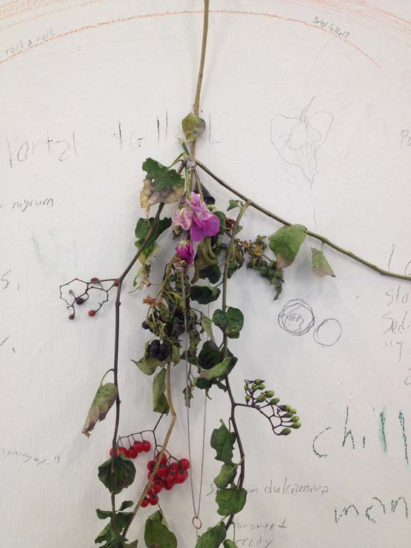 Remembered to make a bundle…  studio shot, organic bits including sweet-pea and nightshade, size variable