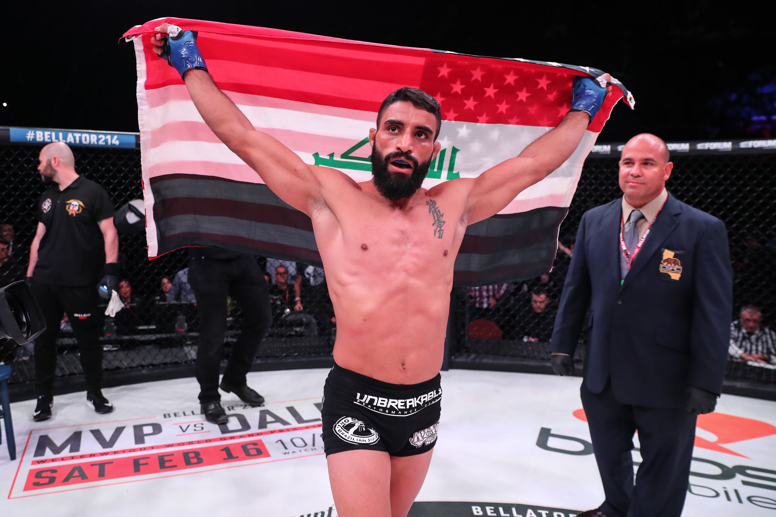 Adel Altamimi def. Brandon McMahan Submission (armbar) Rounds 1 (1:16)
