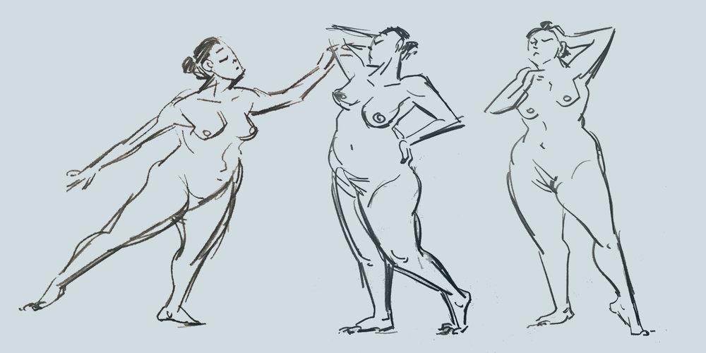 Costume Figure Drawing with George Cwirko-Godycki