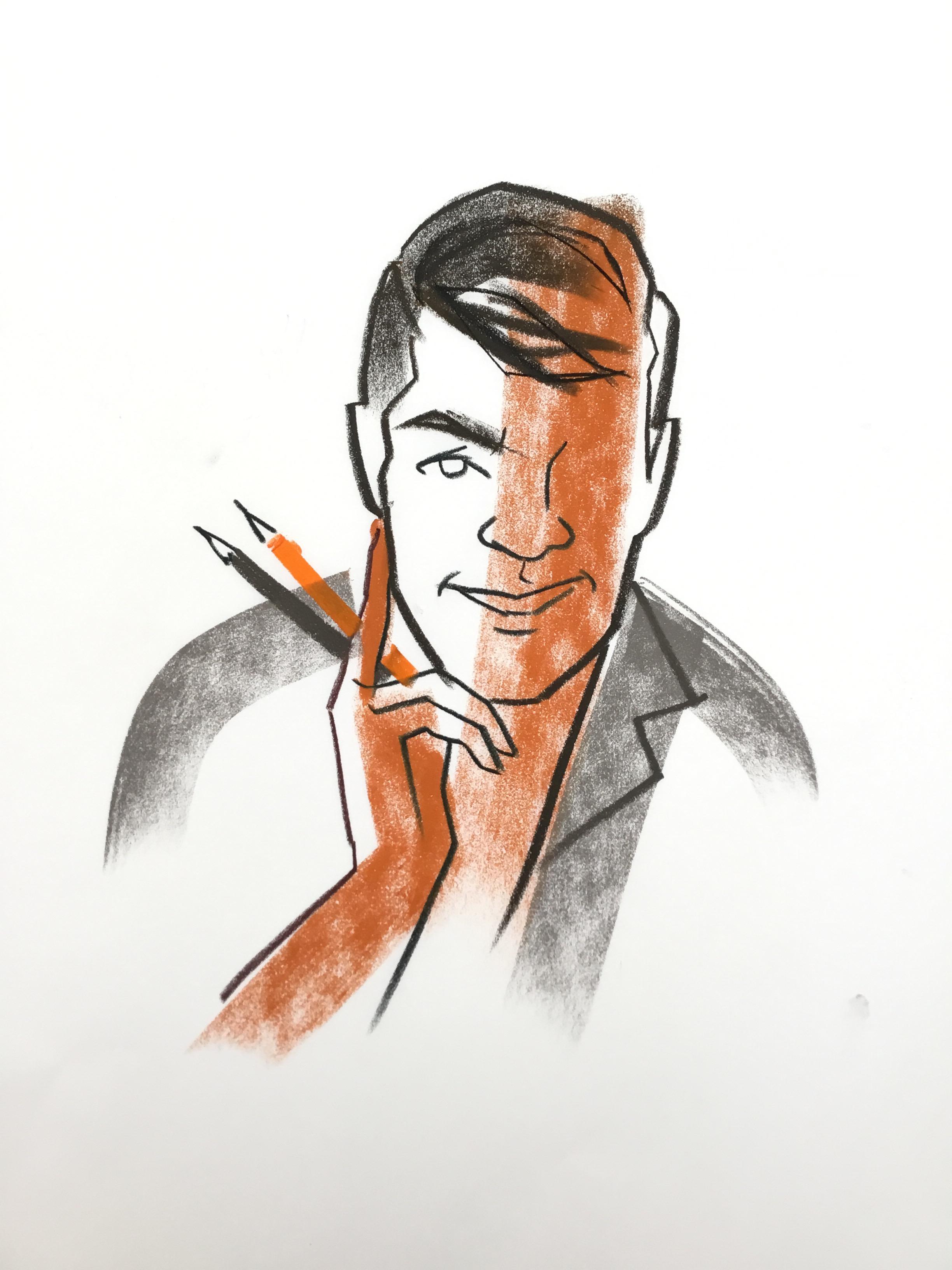 Leonard Cadiente - Self Portrait