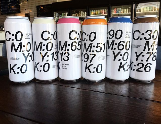 New at the Market. @toolbeer 's Mr. series. White, Blonde, Pink, Orange, Blue, and Brown. Cucumber/Lime/Black pepper gose, TDHIPA, Chocolate/Vanilla/Hazelnut brown ale just to name a few.  #craftbeer #wilmington #wilmingtonnc #local #portcity #sessionbeermarket #sessionbm #LitAF