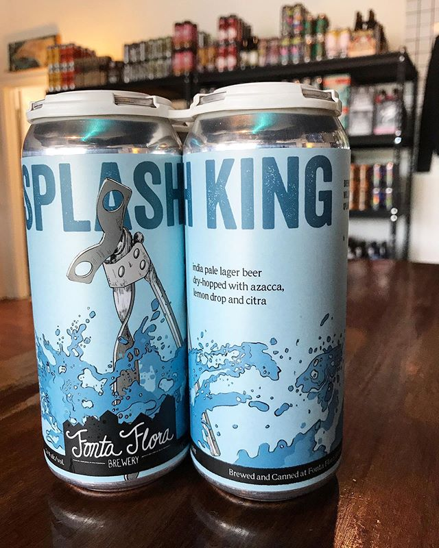 @fontaflorabrew Splash King. IPL dry hopped with Azacca, Lemon drop, and Citra. Perfect for this 127° day.  #craftbeer #wilmington #wilmingtonnc #ncbeer #local #portcity #sessionbeermarket #sessionbm #LitAF #itsnotactuallythathot
