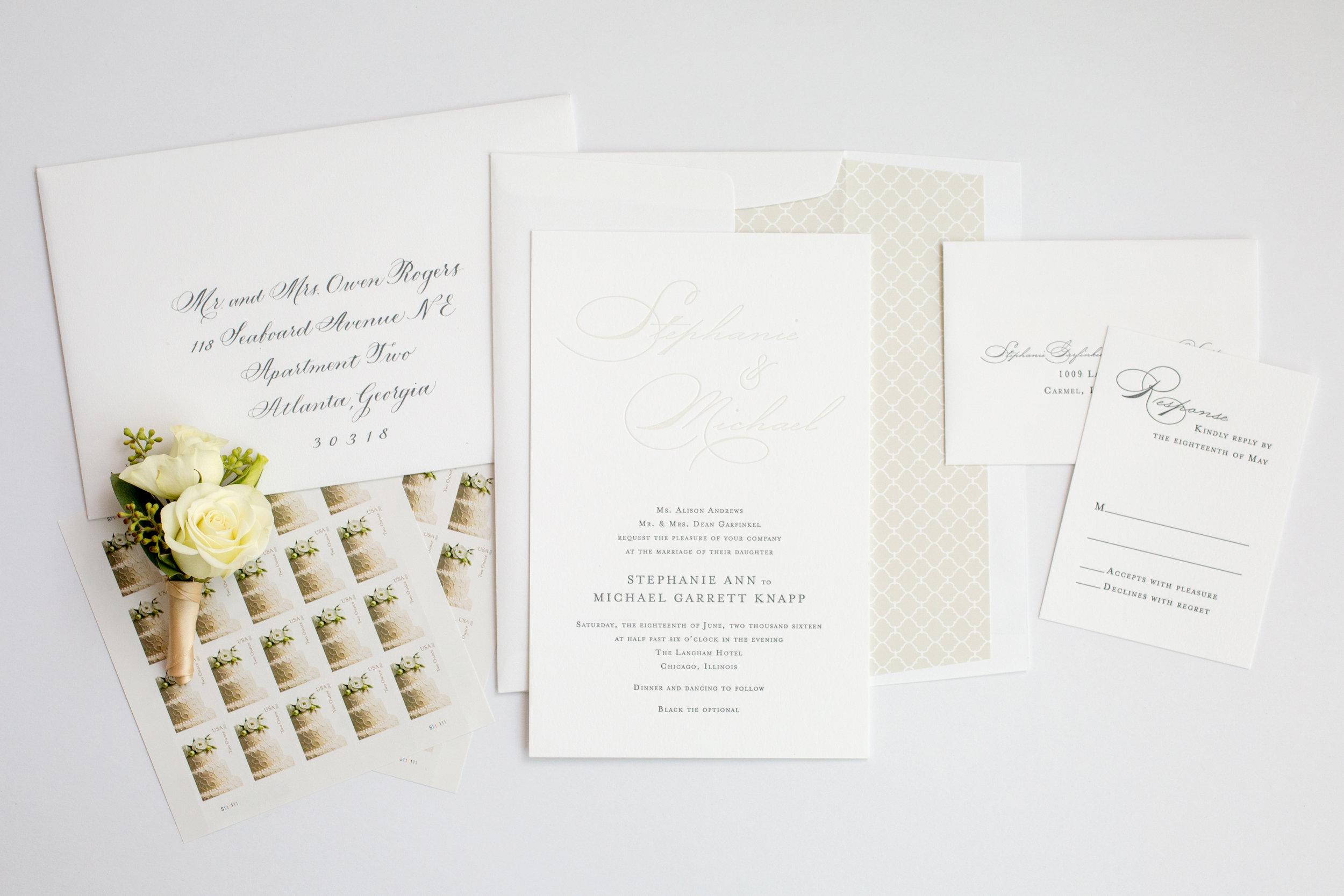 magnificent milestones | wedding invitations | formal collection