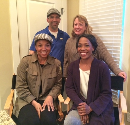 TOP:  Jose Acosta, Director of Photography | Jennifer Spell, Producer  BOTTOM:  Stacie Davis, Writer and Director | Damita Jane, Executive Producer and Lead Actor