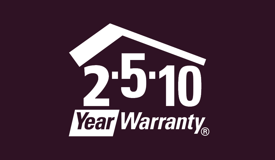 2-5-10 Year Home Warranty