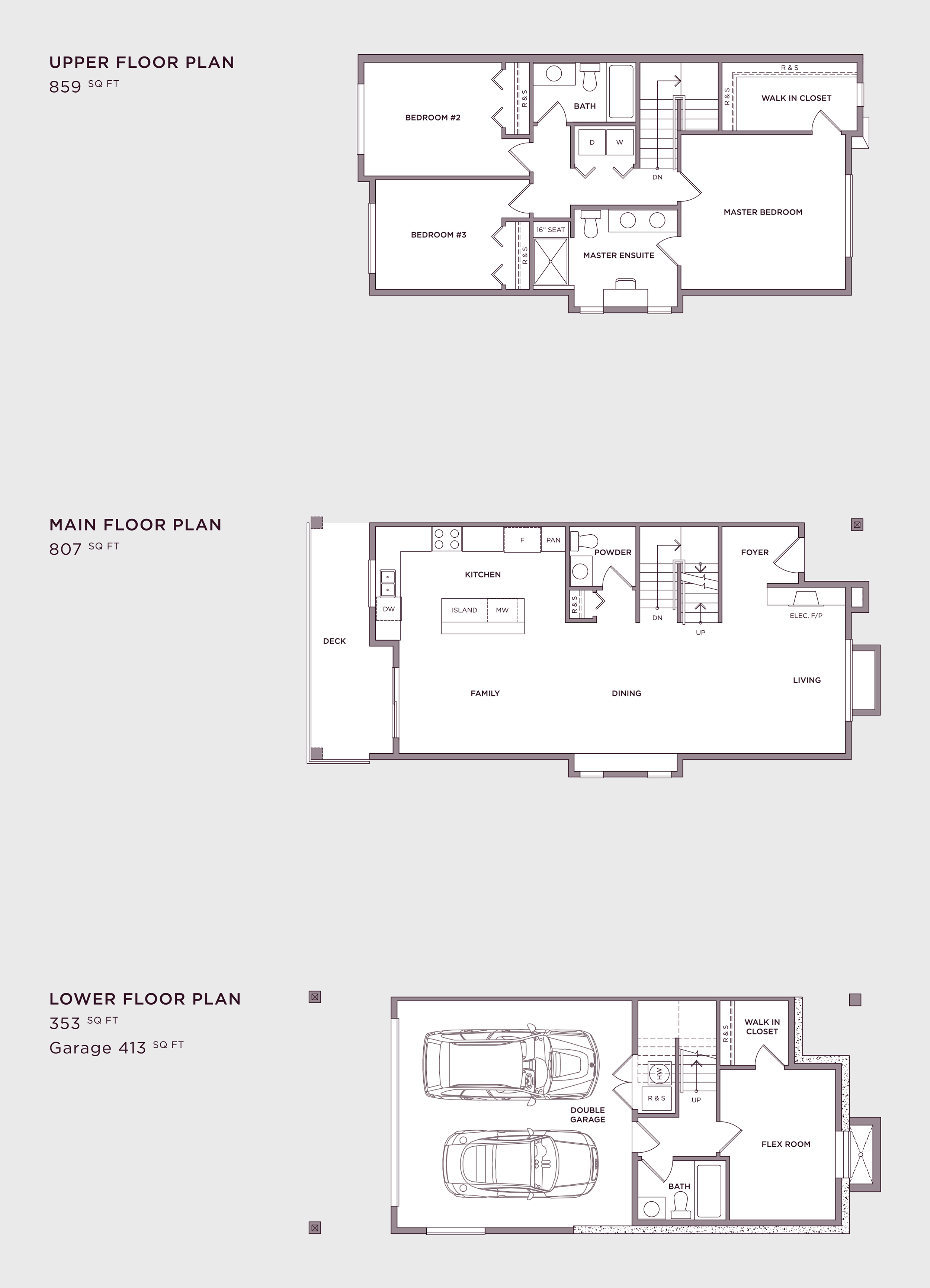 Plan A5 Imperial Townhome