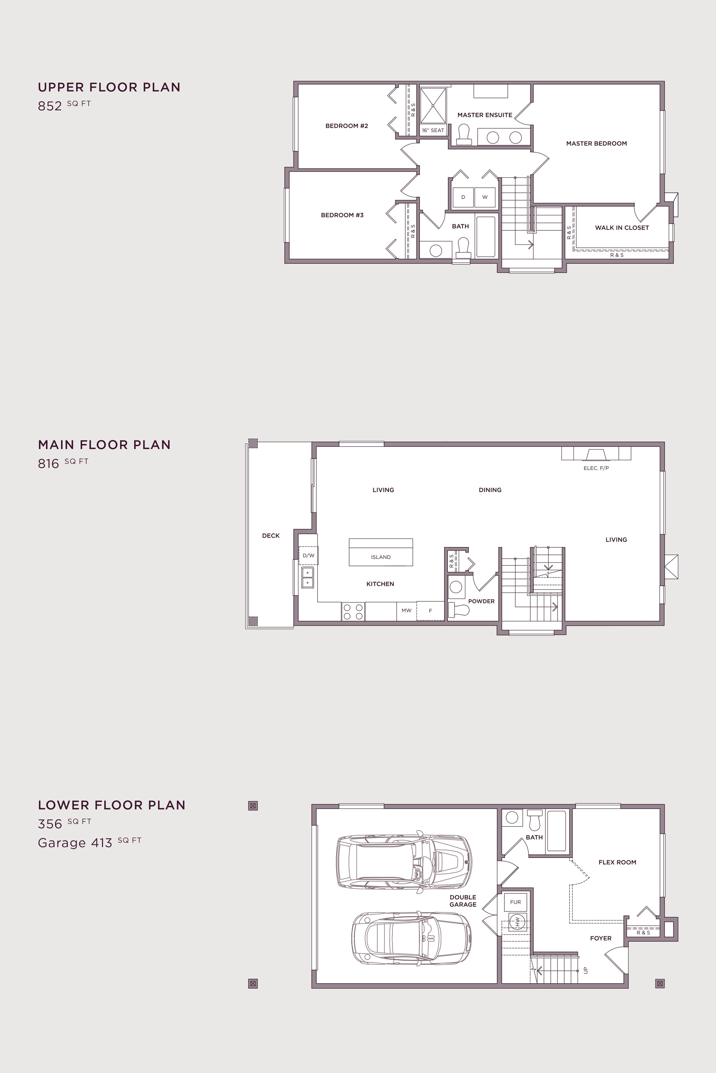 Plan A Imperial Townhome