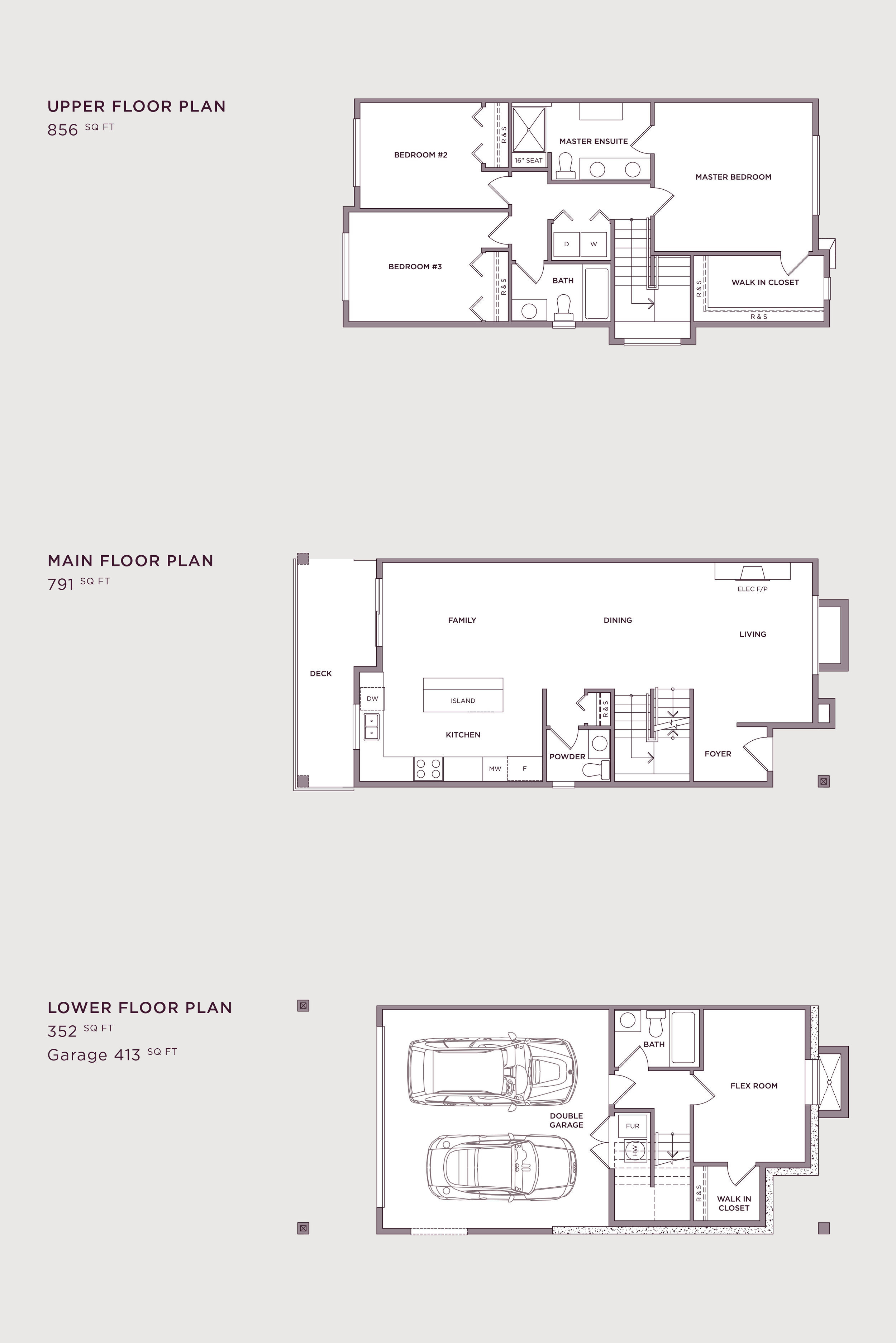 Plan A4 Imperial Townhome