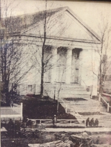 the First Congregational Church of Great Falls as Originally constructed