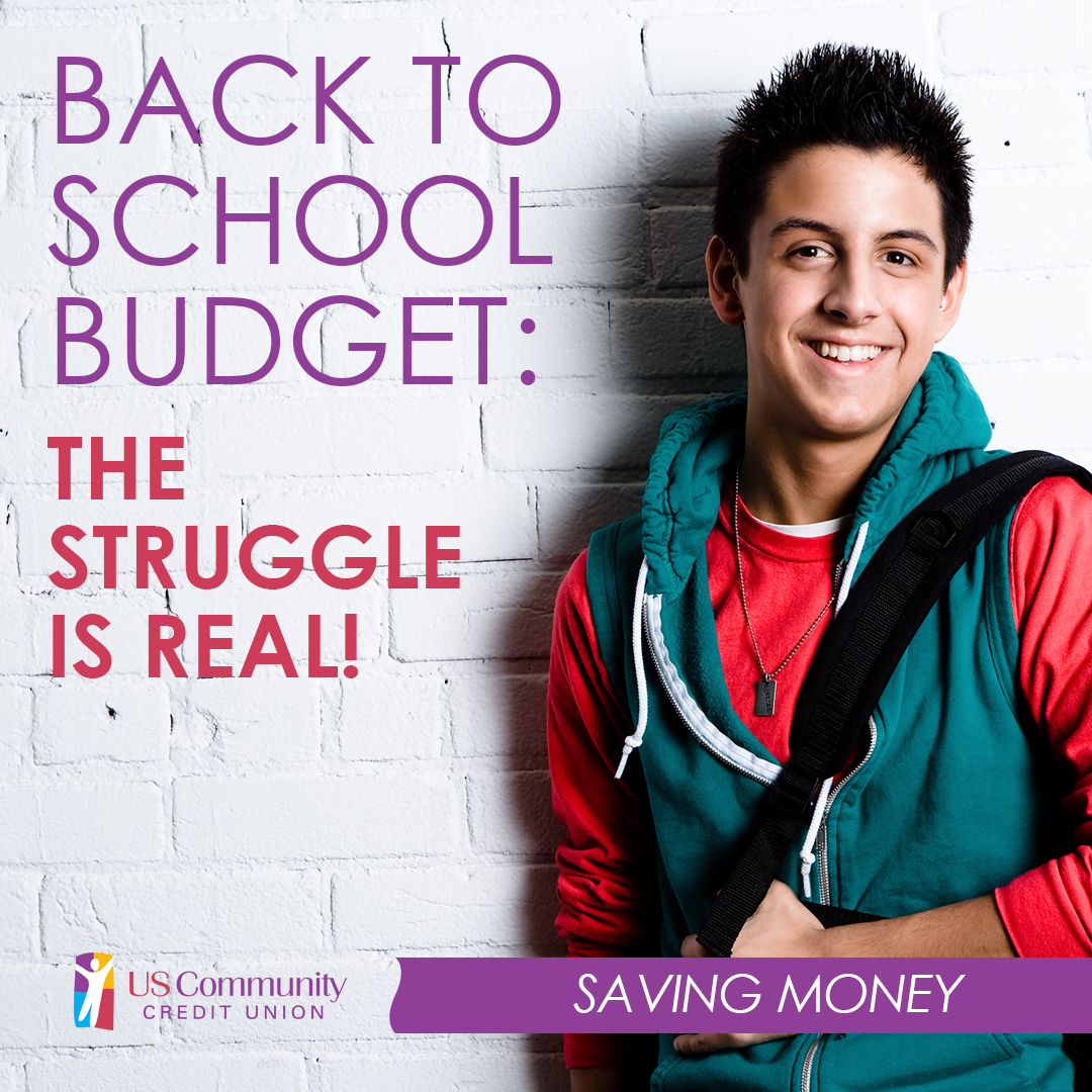 Back to school budget: the struggle is real!