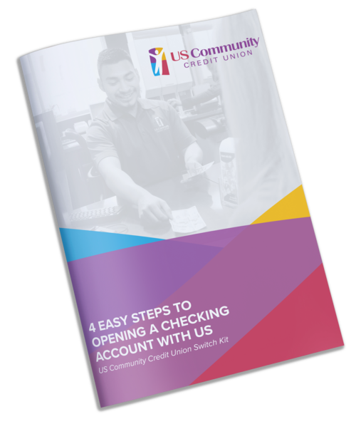 USCCU Switch Kit for Checking Accounts