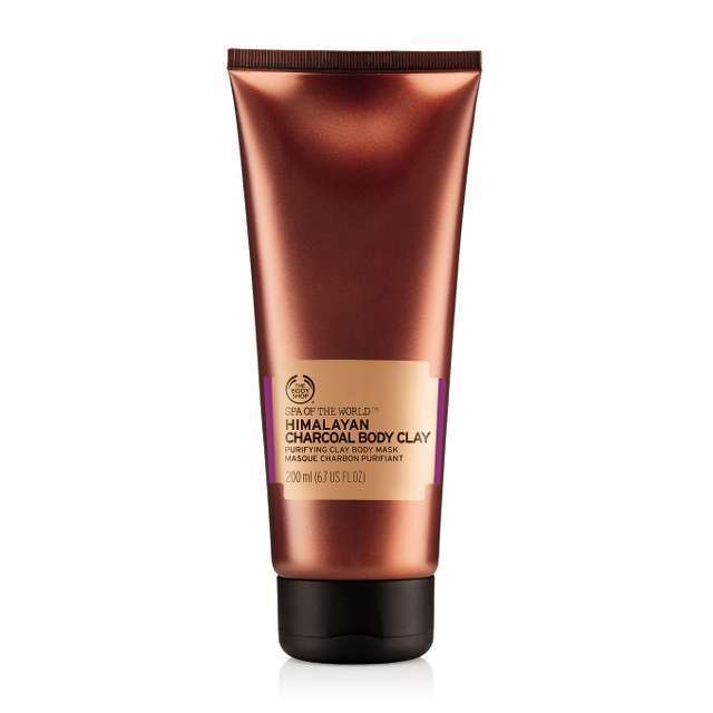 Arcilla Corporal Carbón del Himalaya de The Body Shop