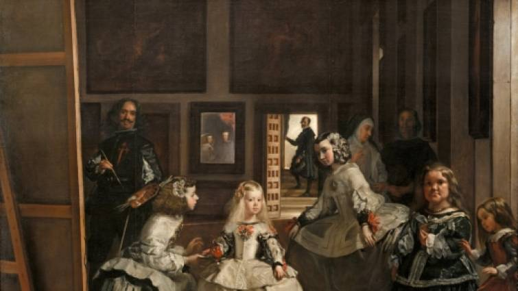 """Diego Velazquez, """"Las meninas"""" 1656."""