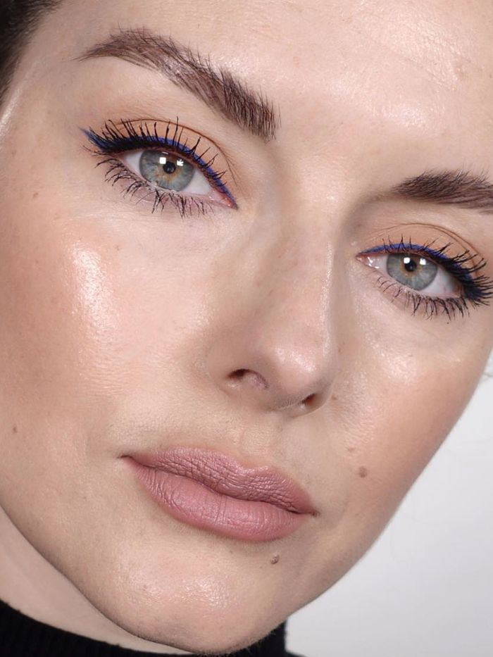 Makeup artist Katie Jane Hughes lets us in on her secret for getting dewy Instagram skin in real life, and it has to do with primer technique.jpeg