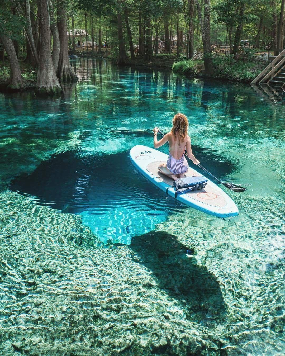 Paddle boarding in Florida looks so relaxing Ever Changing Horizon.jpeg