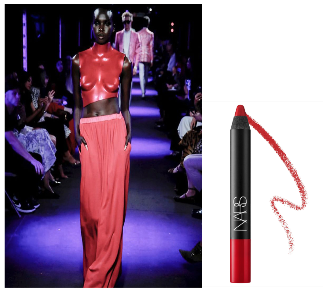 Matte - Diseñador: @tomfordLabial: NARS Velvet Matte Lipstick Pencil en tono Dragon Girl