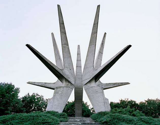 Partisan memorial, Kosmaj Mountain, Serbia