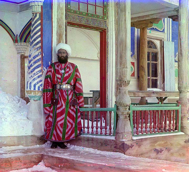 Bukhara bureaucrat. Bukhara, Uzbekistan. 1905-1915.