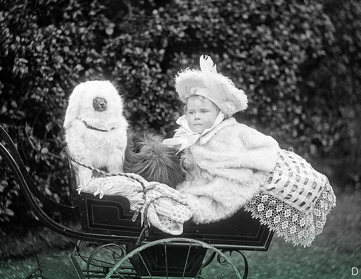 Около 1899 г. // Это Бэби Кокс (справа!) Из Трамора, графство Уотерфорд.