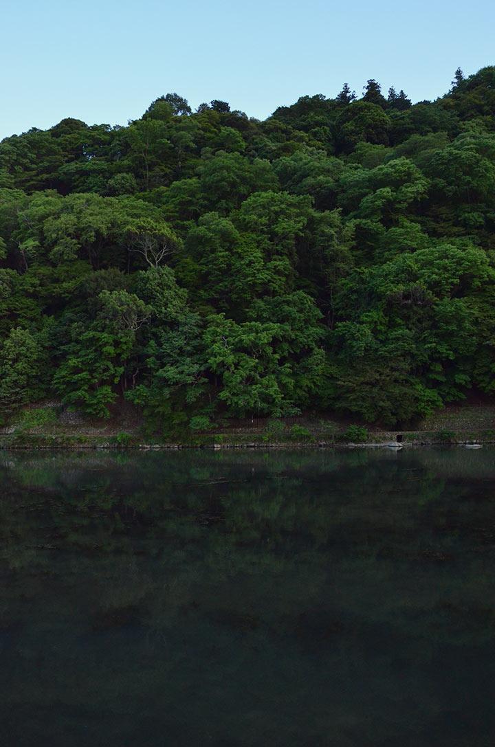 "Arashiyama means ""Storm Mountain"""