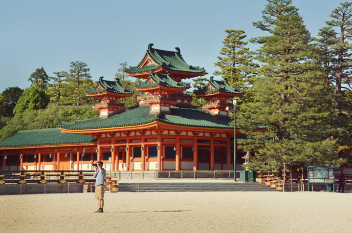 The Heian Shrine