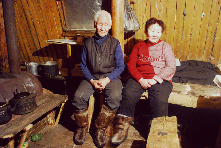 Peter and Alexandra, who run their own reindeer herds near the village of Yuchyugei