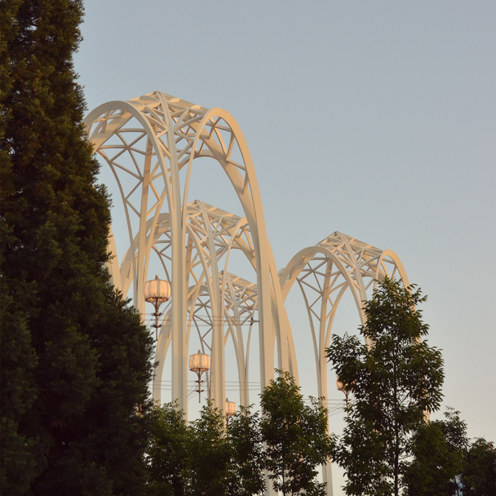 Pacific Science Center's arches