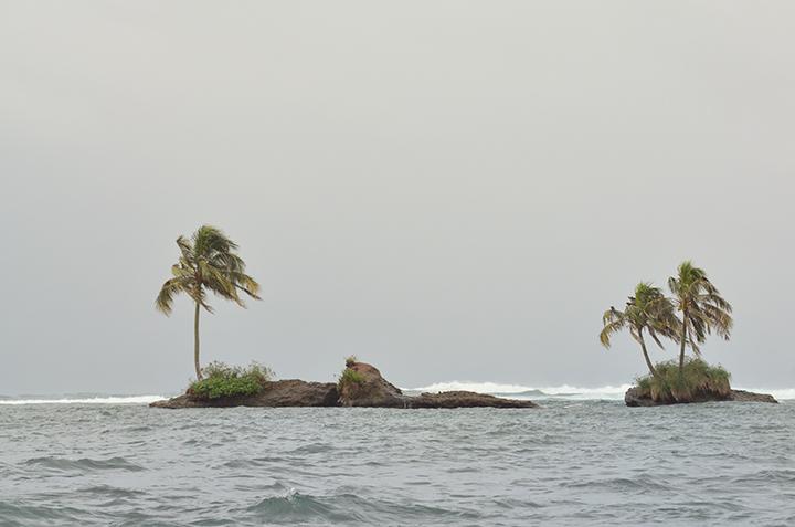 Off the coast of Zapatilla I