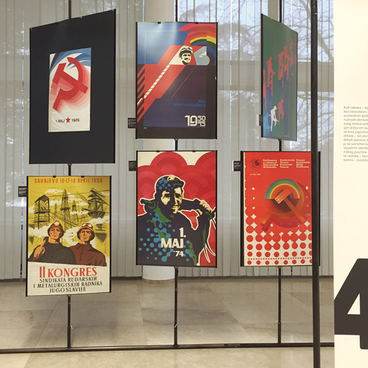 Examples of Yugo poster design