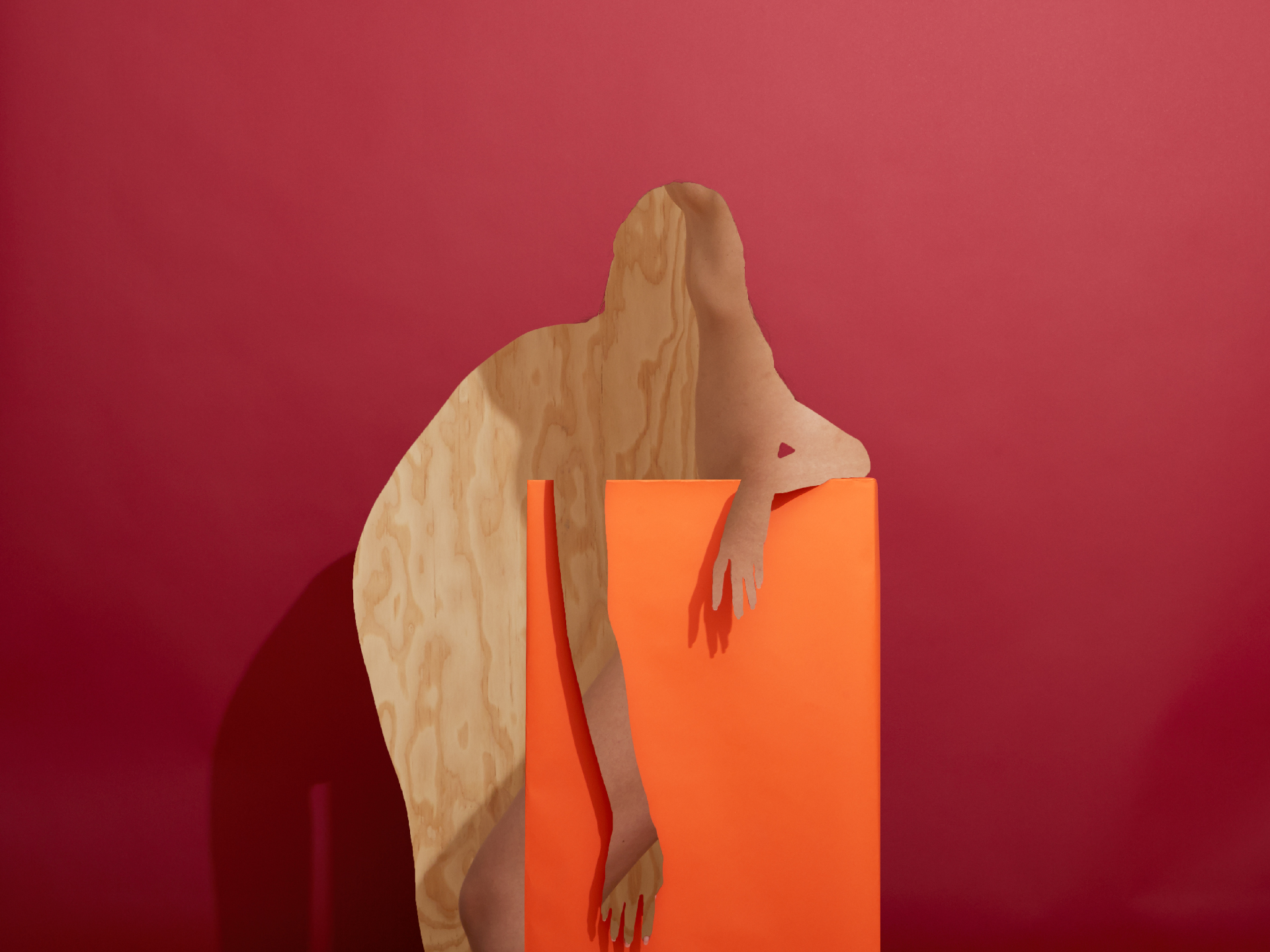 Kara, Crimson, Marmalade, and Plywood  2016