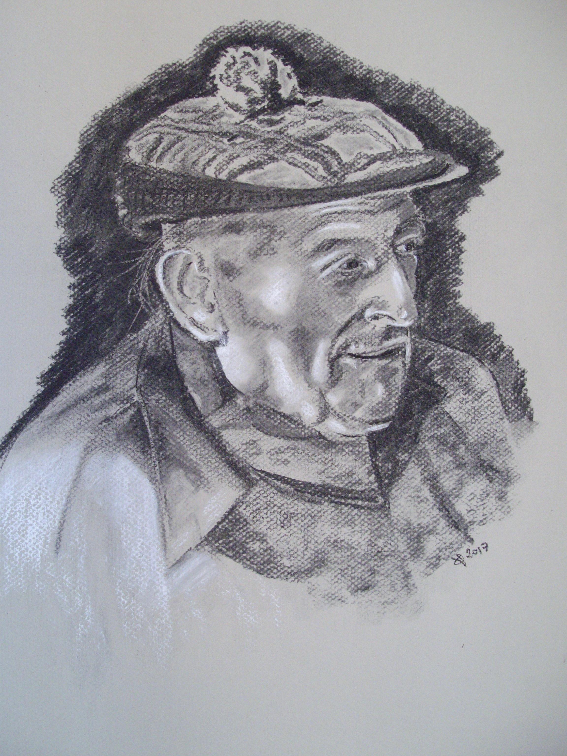 Image of Art Davies drawn by Quentin Verhaegen