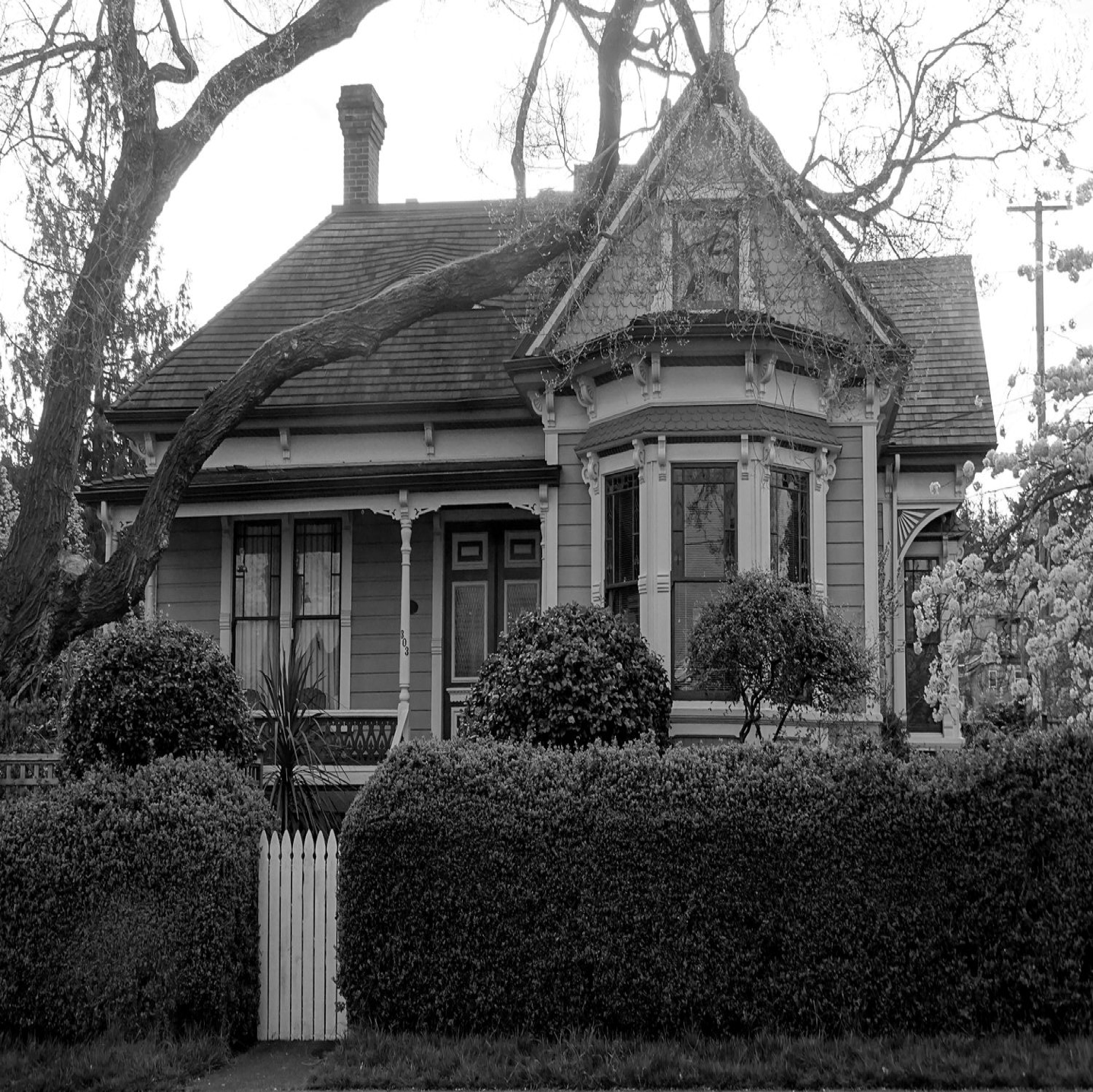 Photo by Penny Pitcher. September Mystery House: 303 Government Street