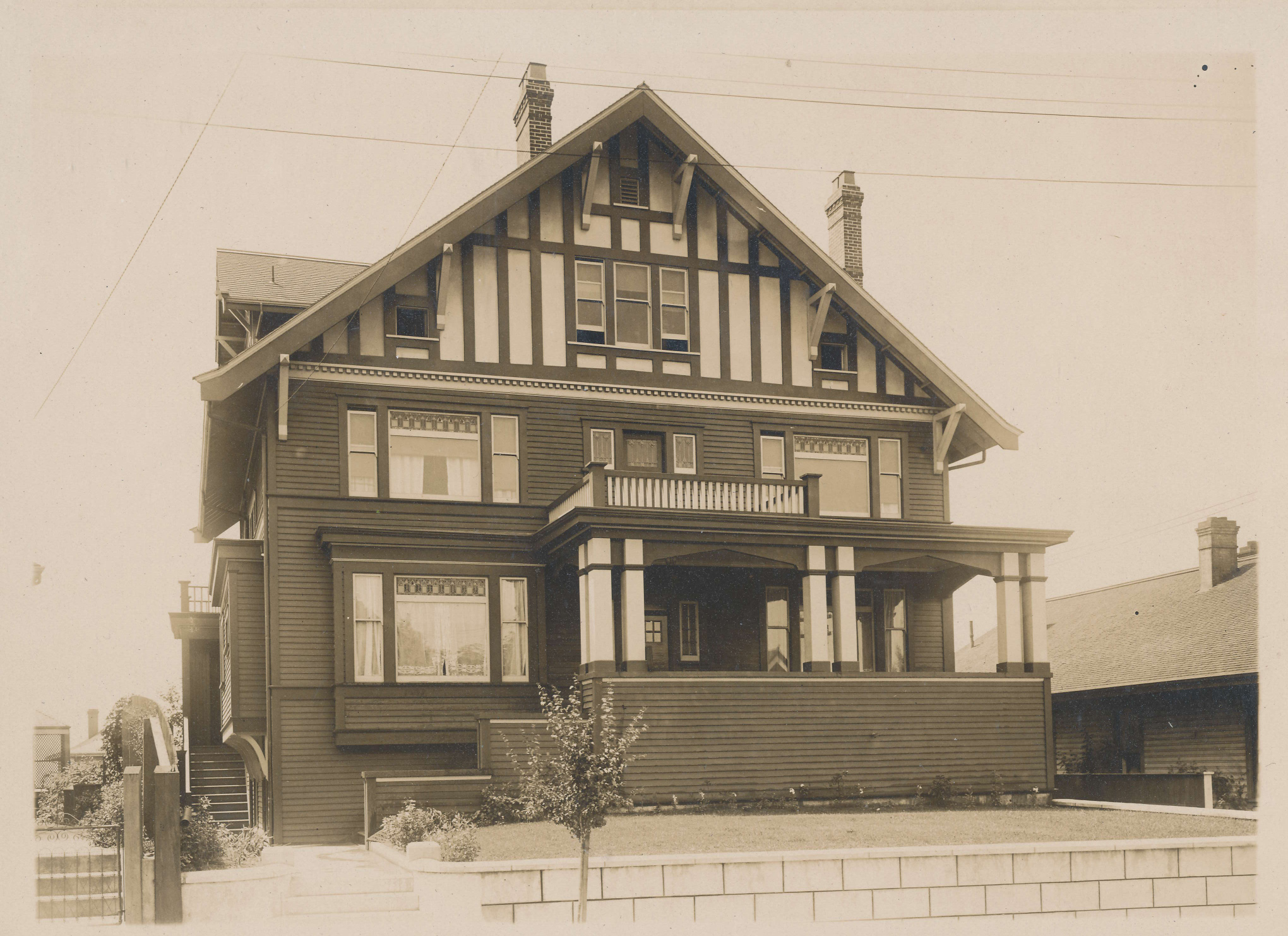 652 Battery Street - 1914 - photo courtesy of Joan Ryan