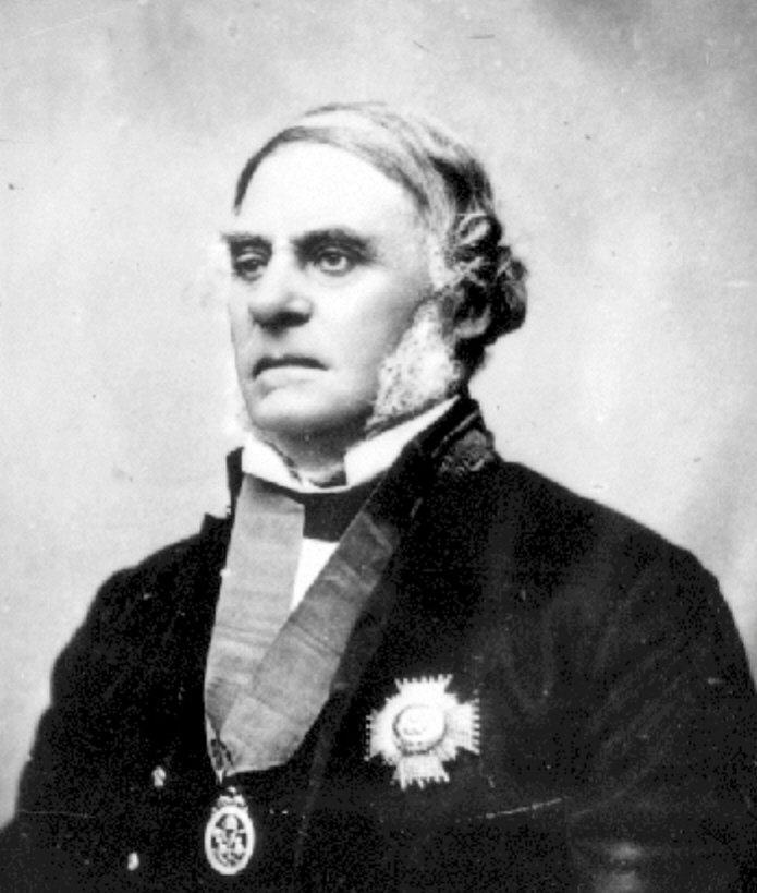 Governorames Douglas - Was Governor of the colony of Vancouver Island in 1851: Photo credit BC Archives