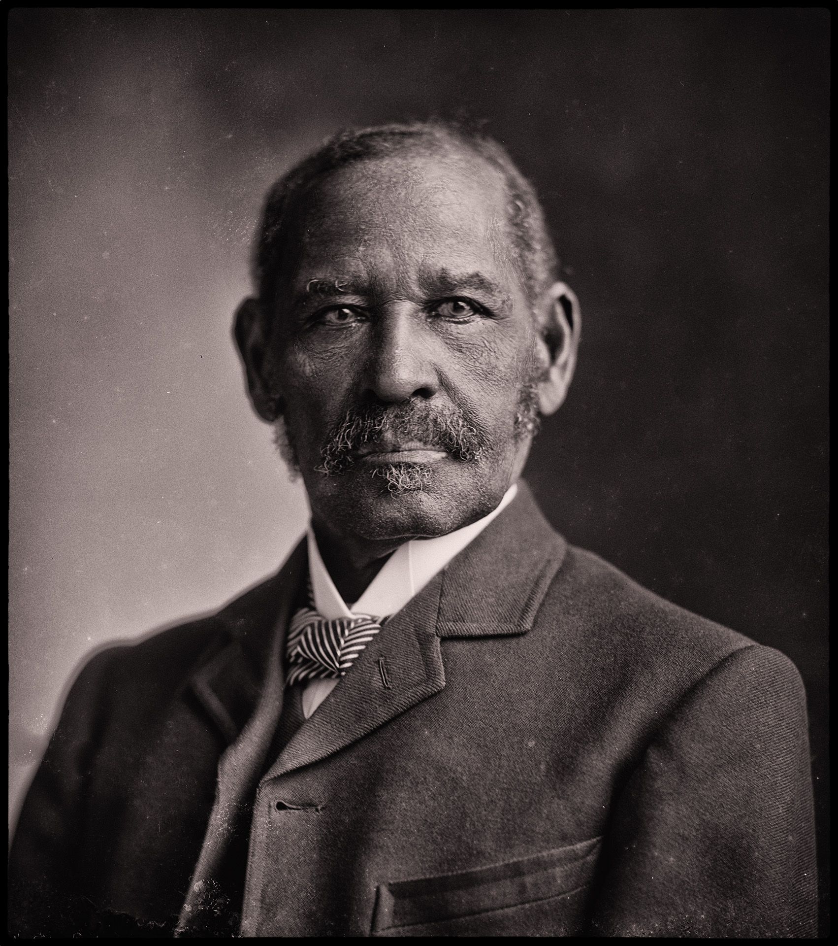 Mifflin Wistar Gibbs - elected to Victoria City council in 1866. Gibbs became the first black elected official in Canada. Photo credit Library of Congress Washington