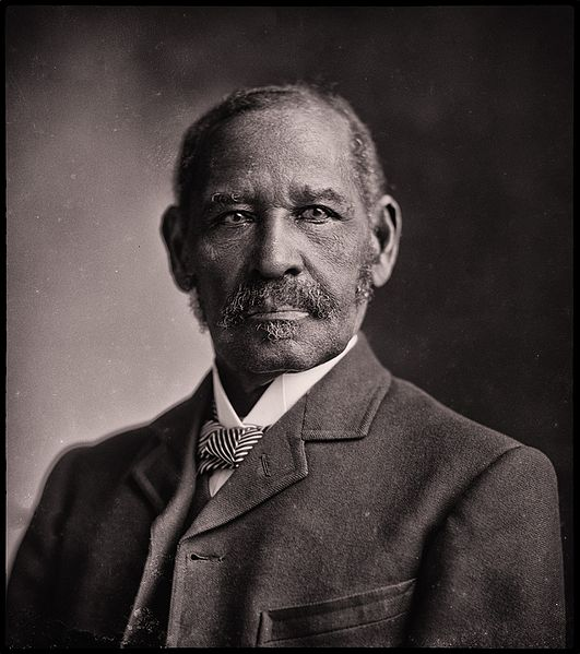 Mifflin Gibbs portrait by C.N. Bell, courtesy of U.S. Library of Congress.