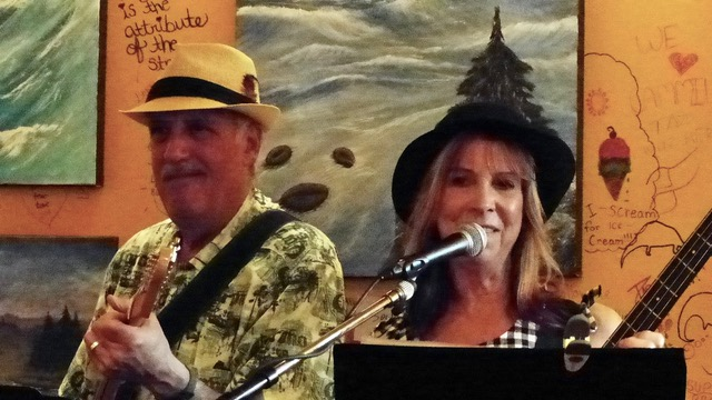 Photo of Jack Lavin & Sharon Wadsworth. Photo by Don Watmough.