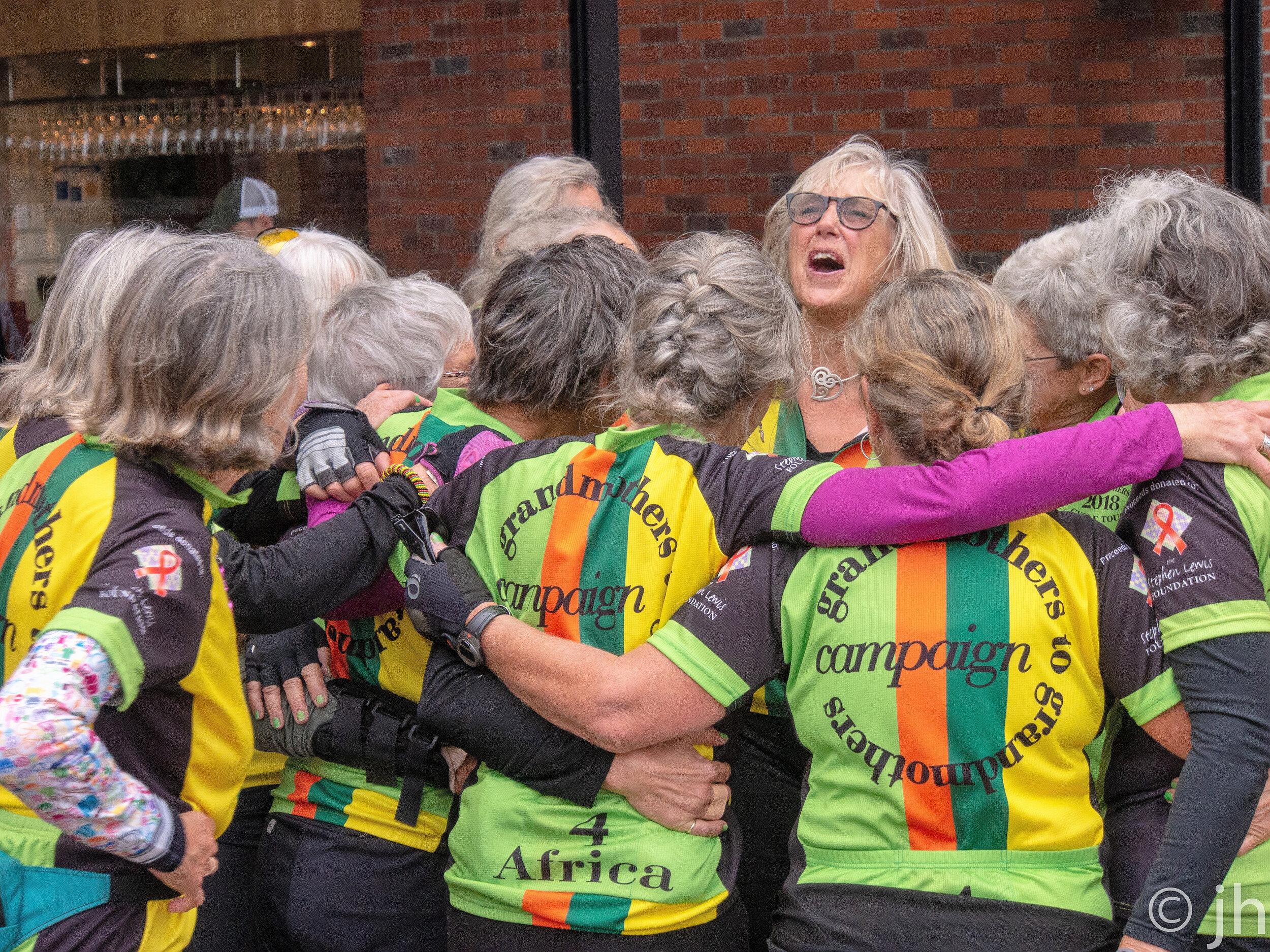 Grandmothers for AfricaThe joy at the end 2018 (PC Jurgen Harding).jpg