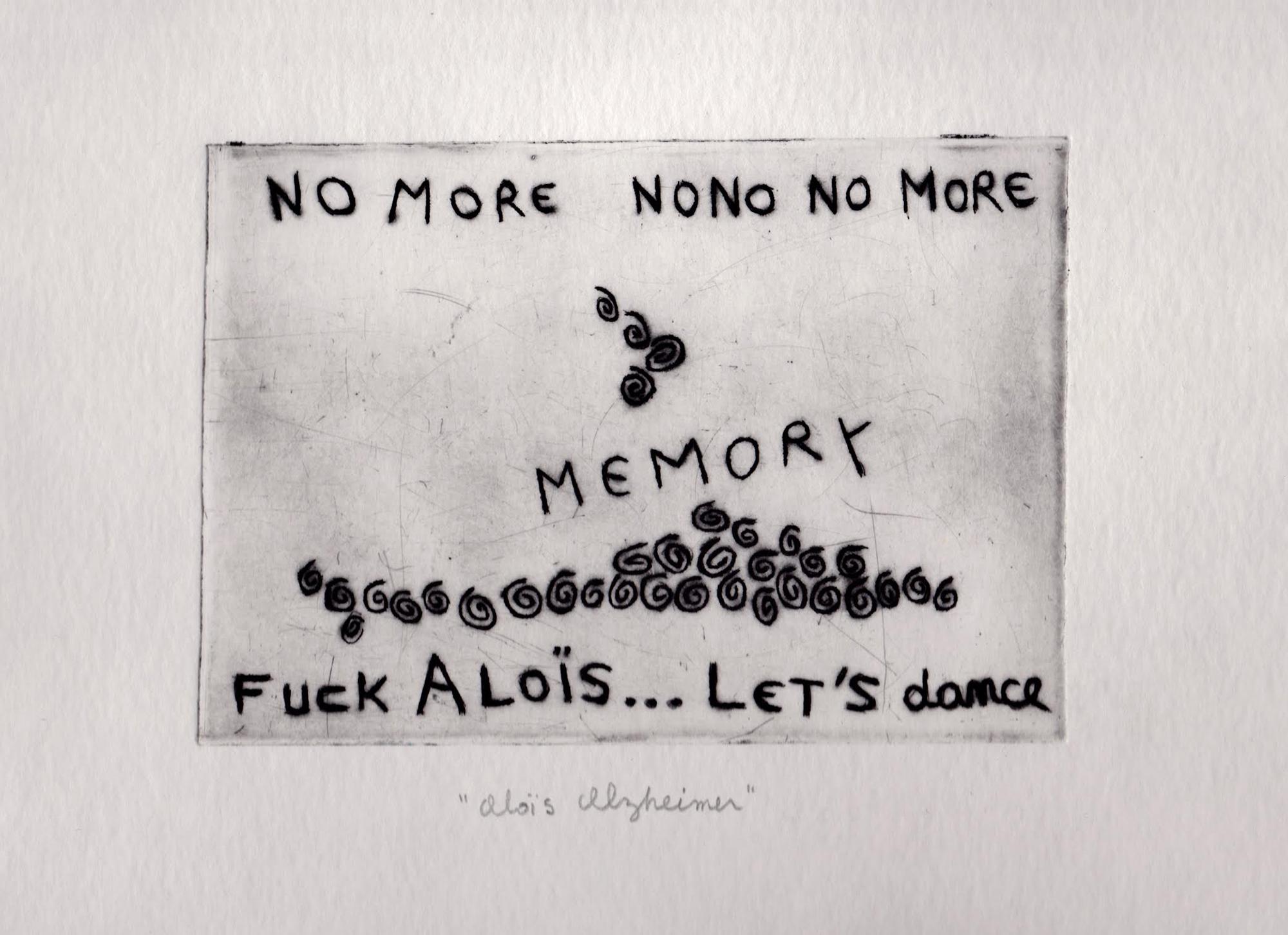 """Aloïs Alzheimer"" -engraving"