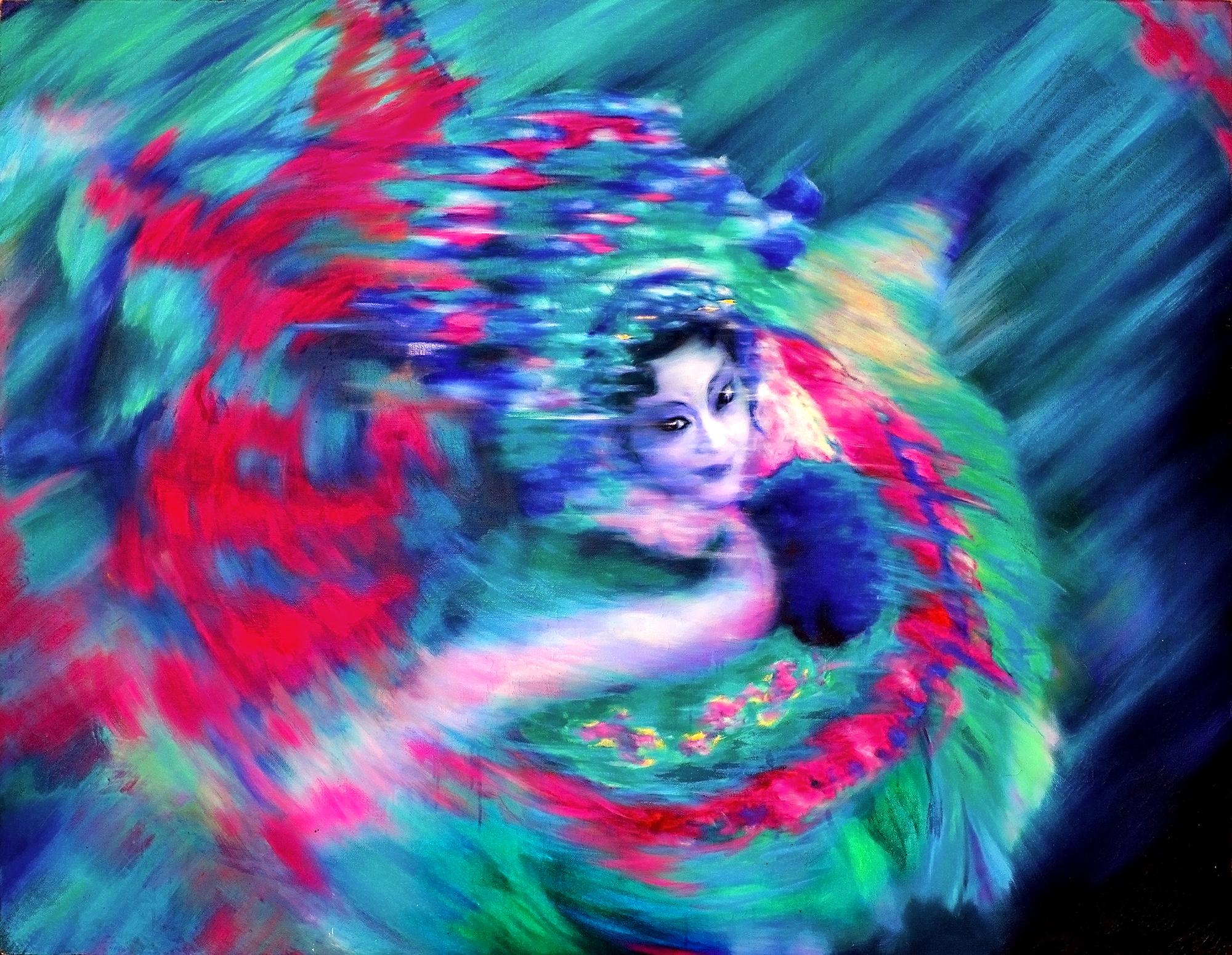 京剧人物•武旦1 Peking Opera-Wudan 1